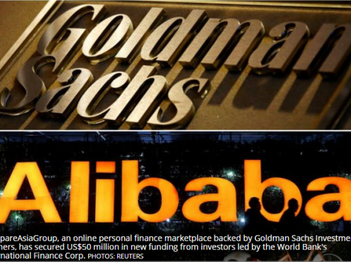 CompareAsiaGroup raises capital from IFC, Alibaba Entrepreneurs Fund and Goldman Sachs Investment Partners